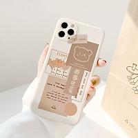 Ốp Lưng Cạnh Vuông Gấu Best One Dành Cho iPhone 6 / 6 Plus / 7 / 7 Plus / 8 / 8 Plus / X / Xs / Xs Max / 11 / 11 Pro / 11 Pro Max / 12 / 12 Pro / 12 Pro Max