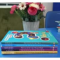 COmbo 5 cuốn Mười vạn câu hỏi vì sao( vật lý, khám phá phát minh khoa học thay đổi thế giới, kỳ quan thế giới, âm nhạc hội họa điện ảnh, danh nhân thế giới các nhà bác học nhân vật nổi tiếng)