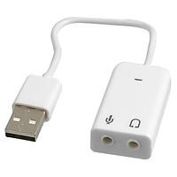 Cáp USB sang loa và mic cho Androi TV, máy tính