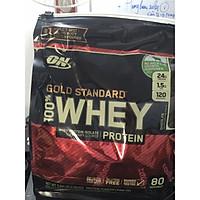 Bột tăng cơ Optimum Nutrition Gold Standard 100% Whey Protein Bịch Net WT 5.64LB 2.56kg (80 servings)