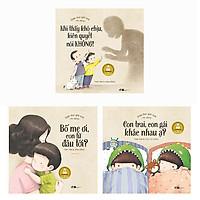 Combo Sách Giáo Dục Giới Tính Nhi Đồng (Bộ 3 Cuốn)