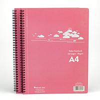 Bộ 2 cuốn sổ xé A4 lò xo - A4XR01