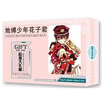 Hộp quà A5 anime Jibaku Shounen Hanako-kun Ác quỷ trong nhà xí tặng ảnh VCone