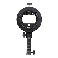 Hand Grip S-Type Bracket Mount Holder For Flash Speed Lite Soft Box S Beauty Dish Honeycomb Photography