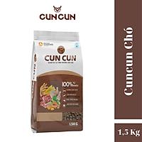 Thức ăn cho chó CunCun DOG gói 1,5kg (Hạt chó phổ thông)