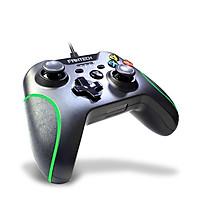 Tay cầm chơi game đa chức năng có dây Fantech SHOOTER GP11 viền màu xanh - Hàng chính hãng