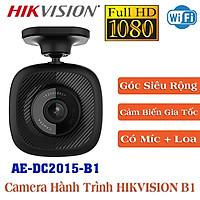 Camera hành trình HIKVISION AE-DC2015-B1 Chuẩn Full HD Góc Siêu Rộng , Tích Hợp Loa Và Mic , Xem Trực Tiếp Trên Điện Thoại - Hàng Chính Hãng