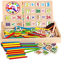 Đồ chơi dạy toán bằng gỗ cho bé