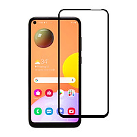 Miếng Dán Kính Cường Lực cho Samsung Galaxy A11 - Full màn hình - Màu Đen - Hàng Chính Hãng