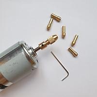 Bộ đầu đồng kẹp mũi khoan trục 5mm dùng cho động cơ trục 5mm như 775 795