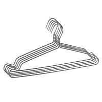 Móc treo quần áo nhôm - Móc treo nhôm chống trượt
