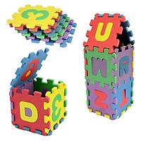 Tấm Xốp Eva Lắp Ghép Hình Bảng Chữ Cái Chữ Số Cho Trẻ Em (36 Miếng)