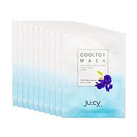 Combo 10 mặt nạ Hàn Quốc Ju:cy Cooltox Mask