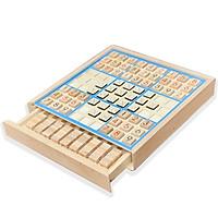 Đồ Chơi Gỗ Board Game Cờ Caro, Sudoku Kết Hợp 2 Trong 1 Dành Cho Mọi Lứa Tuổi- Đồ Chơi Thông Minh Tư Duy, Trí Tuệ