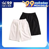Combo 2 Quần đũi lửng, quần đũi nữ ống rộng siêu mát - ZQL01