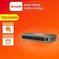 Bộ chia mạng Switch Tenda TEG1008M 8 cổng Ethernet 1000Mbps - Hàng Chính Hãng