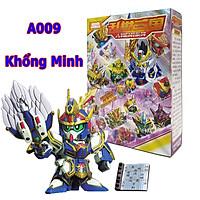 Xếp hình, Lắp ghép Gundam Khổng Minh - Đồ chơi Tam Quốc Kong Ming A009