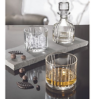 Bộ bình và 2 ly rượu pha lê Ý RCR  Combo 345ml
