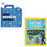 Combo How Business Works - Hiểu Hết Về Kinh Doanh + How Things Work - Cách Mọi Vật Vận Hành (Bộ 2 Cuốn)