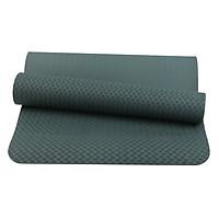 Thảm Tập Yoga Eco TPE 1 Lớp Sportslink (6mm) - Xanh Rêu