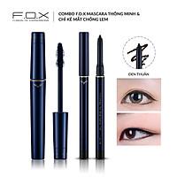 Combo F.O.X Mascara Thông Minh & Chì Kẻ Mắt Chống Lem