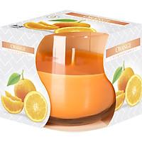 Ly nến thơm tinh dầu Bispol Orange 100g PTT024776 - hương cam ngọt