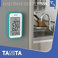 Nhiệt ẩm kế điện tử Tanita TT559 chính hãng nhật,Nhiệt ẩm kế cơ,Nhiệt ẩm kế điện tử,Nhiệt ẩm kế nhật,Nhiệt ẩm kế chính xác,Nhiệt ẩm kế phòng,Nhiệt ẩm kế trong phòng cho trẻ sơ sinh,Nhiệt ẩm kế treo tường,Nhiệt ẩm kế đo độ ẩm, Nhiệt ẩm kế tanita, Nhiệt ẩm kế nhật bản Ẩm kế