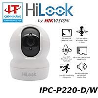 Camera HiLook IPC-P220-D/W 2.0 Megapixel, kết nối Wifi, âm thanh 2 chiều - Hàng Chính Hãng