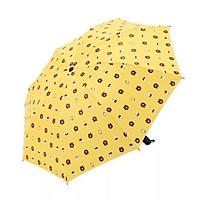 Ô đi mưa gấp gọn in hình dễ thương (Gấu)