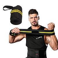 Băng quấn cổ định cổ tay khi tập luyện thể thao với chất liệu polyester phong cách thể thao mạnh mẽ Cleacco - Hàng chính hãng (Giao màu ngẫu nhiên)