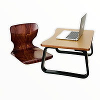 Ghế Bệt bảo vệ cột sống Gỗ Beech Uốn Cong, Màu Walnut Nâu Đỏ - Plyconcept Toma Chair V5