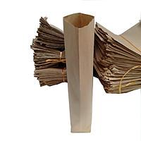100 Túi giấy xi măng đựng bánh mì dài