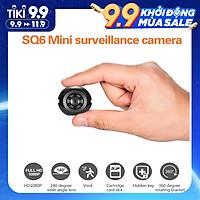 Mini Surveillance Camera Portable HD 1080P Cam Wide Angle Night Vision Cameras