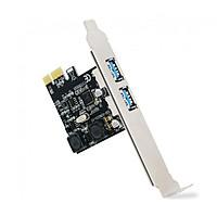 Card PCI-E mở rộng ra 2 cổng USB 3.0 không cần nguồn phụ D00-249