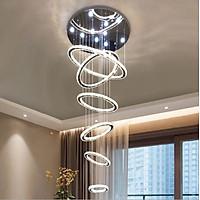 Đèn thả thông tầng BRENNA pha lê hiện đại, đẳng cấp trang trí nội thất sang trọng [ẢNH THẬT 100%]