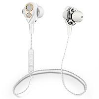 Tai Nghe Bluetooth SMN-15 Lõi Kép Wireless Earbuds iOS/Android V4.1 Super Bass - Có khe cắm thẻ nhớ