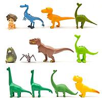 Bộ 12 mô hình phim Chú Khủng Long tốt bụng - The Good Dinosaur (cao 2.5-7 cm)