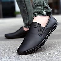 Giày lười nam đẹp da bò thật ZL06 - Giày mọi đẹp 2019