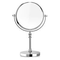Gương trang điểm tròn xoay 360 độ Mini để bàn 2 mặt MissuVN