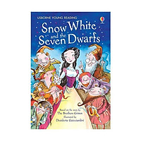 Sách - Usborne Young Reading Series 1 - Snow White Seven Dwarfs by Brothers Grimm - (UK Edition, paperback)
