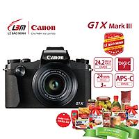 Máy ảnh Canon Powershot G1X Mark III  - Hàng Chính Hãng Lê Bảo Minh