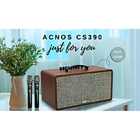 Dàn Âm Thanh Di Động ACNOS CS390 - Hàng Chính Hãng
