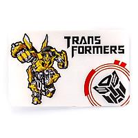 Sticker hình dán metal thẻ Transformer - Protect The Earth