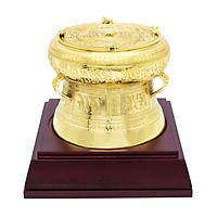 Quà lưu niệm Việt Nam Trống đồng mạ vàng 24K