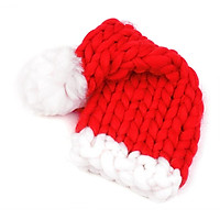 Christmas Hat Santa Hat Unisex Soft Texture Comfortable Touch for Baby Infants Children Adults