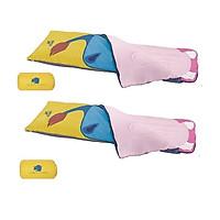 Combo 2 túi ngủ đa năng siêu nhẹ nhập khẩu dành cho bé từ 6-12 tuổi