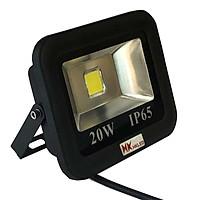Đèn pha LED ngoài trời HKLED tròn chóa rộng 20W - IP65