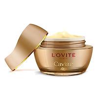 Kem Dưỡng Tăng Cường Sức Sống Và Sáng Da - Caviar Vital Light Cream L'ovité 45ml