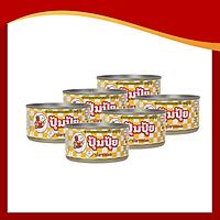 Combo 6 Hộp Cá Chiên Ớt Pompui 90g (Thái Lan)