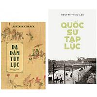 Combo sách lịch sử hay : Dạ đàm tùy lục + Quốc sử tạp lục - Combo sách có một vị trí quan trọng trong lòng đọc giả say mê văn chương cổ điển - Tặng kèm bookmark thiết kế